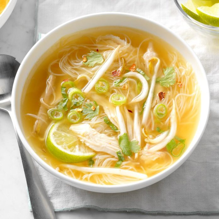 Thai Chicken Noodle Soup