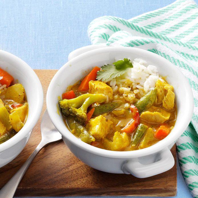 Make: Thai Red Chicken Curry