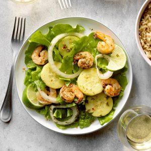 Thai Shrimp Salad for 2