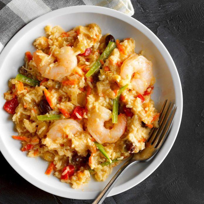 Thai Shrimp and Rice