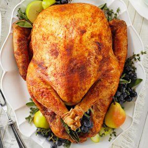 Thanksgiving Stuffed Turkey