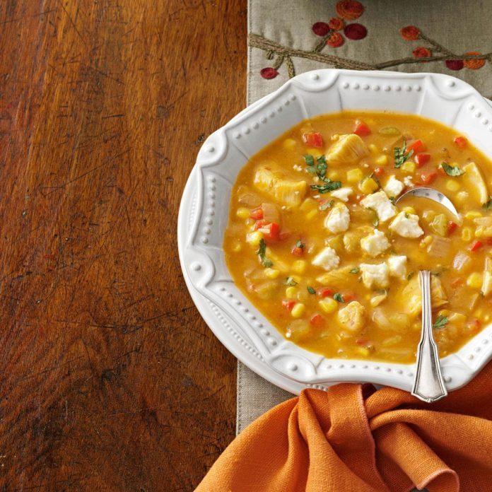 'Thanksgiving's Not Over Yet' Enchilada Soup