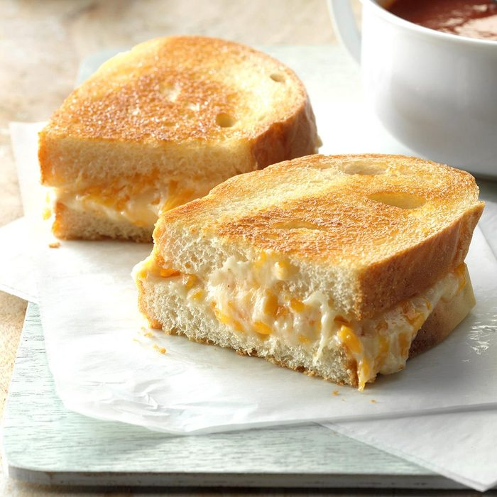 The Ultimate Grilled Cheese