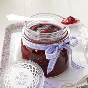 Three-Berry Jam