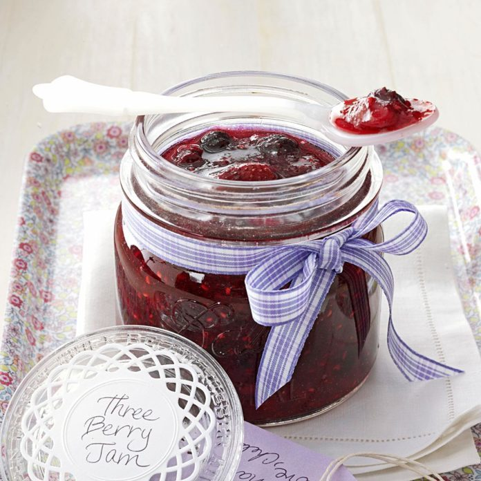 Three-Berry Jam