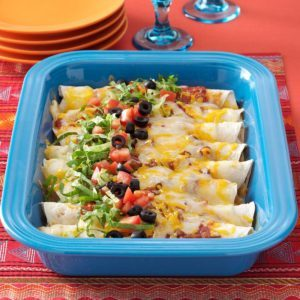 Three Cheese Enchiladas