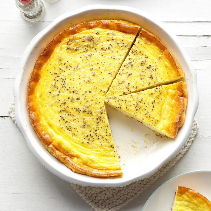Three-Cheese Quiche