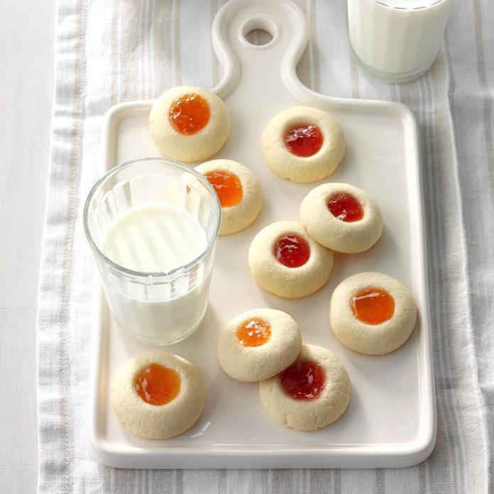 Thumbprint Butter Cookies