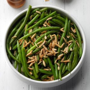 Thyme Green Beans with Almonds