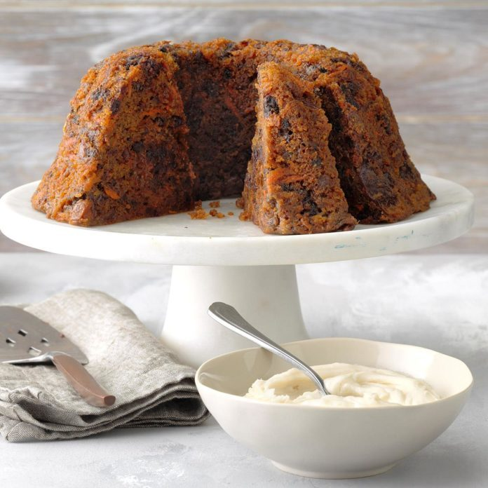 Plum Pudding Inspired by The Muppet Christmas Carol