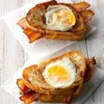 Toad in the Hole Bacon Sandwich