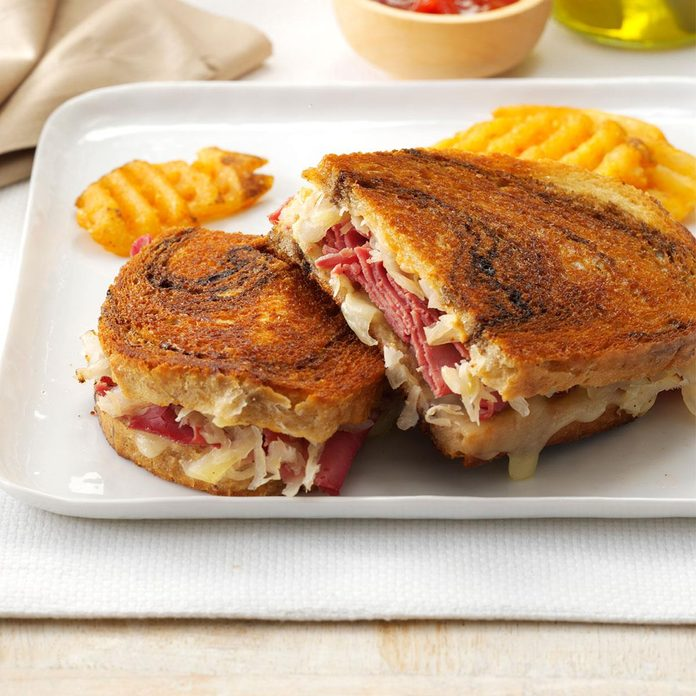 Inspired by: Grilled Reuben Melt at Culver's