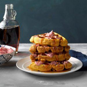 Toasty Pumpkin Waffles