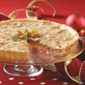 Toffee Almond Tart