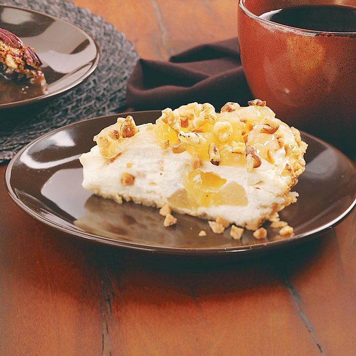 Toffee Apple Cheese Pie