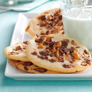 Toffee-Chip Sugar Cookies