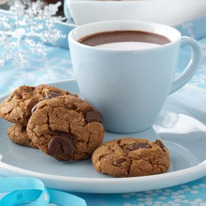 Toffee Coffee Cookies
