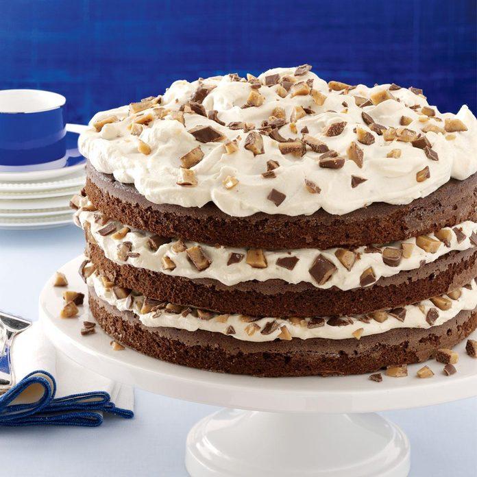 Toffee-Mocha Cream Torte