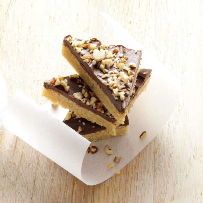 Toffee Triangles