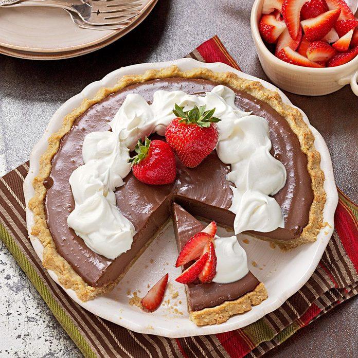 Tofu Chocolate Pie