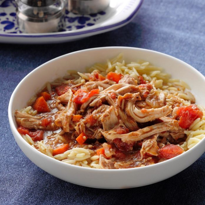Day 17: Tomato Balsamic Chicken