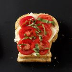 Tomato-Basil Grilled Cheese Sandwiches