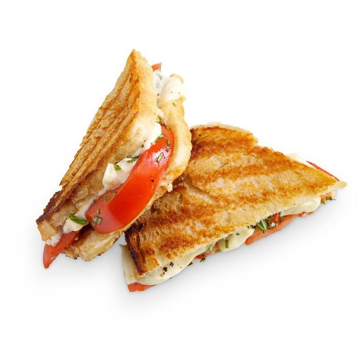 Tomato-Basil Grilled Cheese