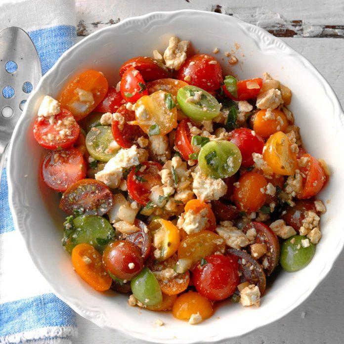 South Carolina: Tomato Feta Salad
