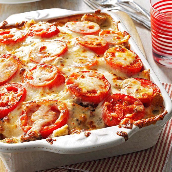 Oregon: Tomato-French Bread Lasagna