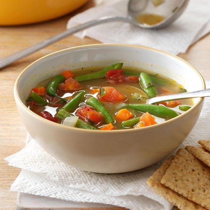 Tomato Green Bean Soup