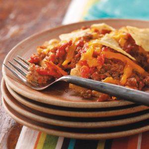 Tortilla Beef Bake