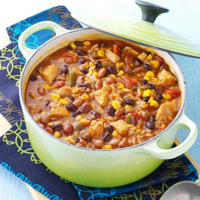 Tortilla Chicken Bean Soup