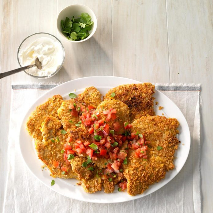 Tortilla Crunch Turkey Cutlets