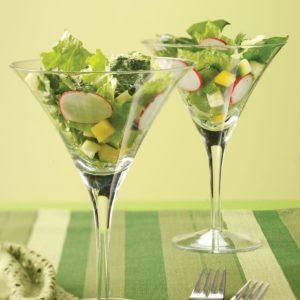 Tossed Salad with Cilantro Vinaigrette