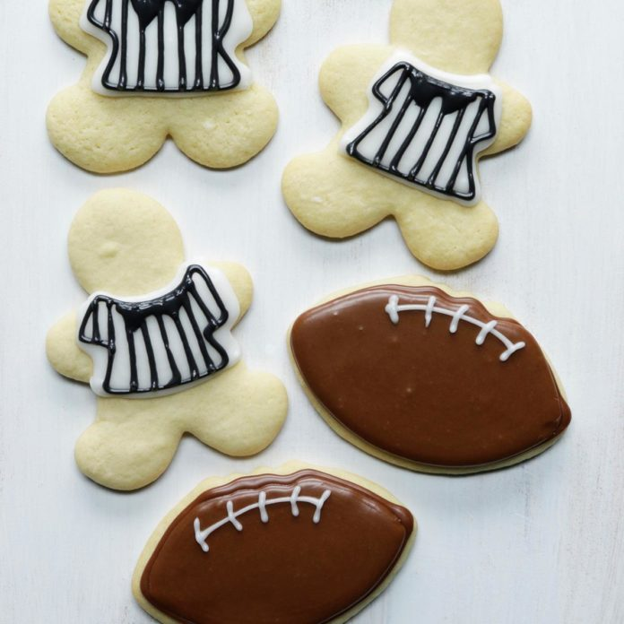 Referees Made With a Gingerbread Man Cutter