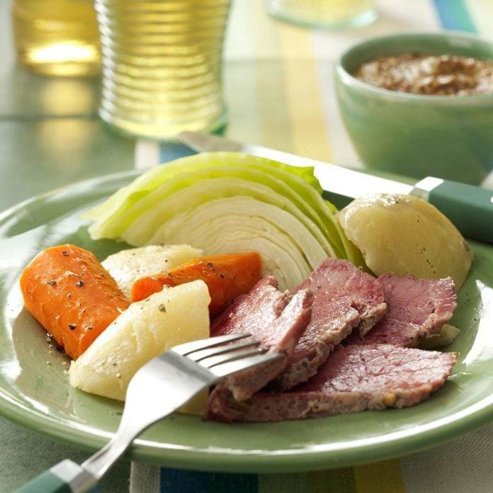 Traditional Boiled Dinner