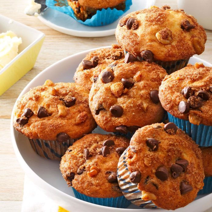 Inspired by: Chocolate Chip Muffins