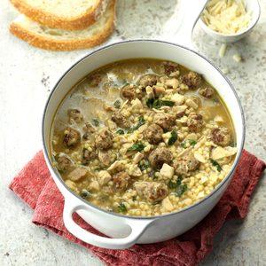 Traditional Italian Wedding Soup