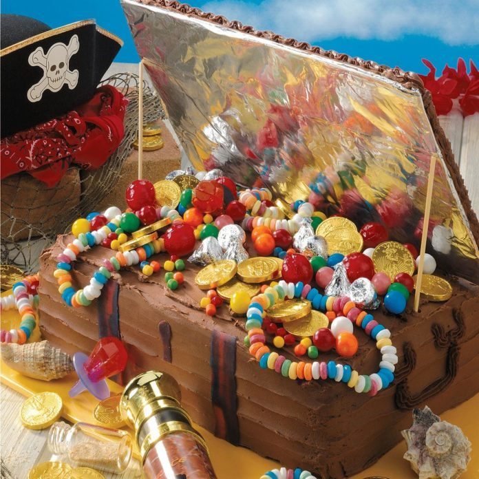 Treasure Chest Birthday Cake