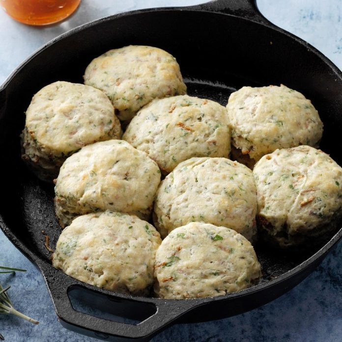 Triple-Herbed Biscuits