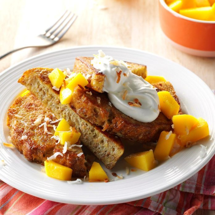 Tropical French Toast
