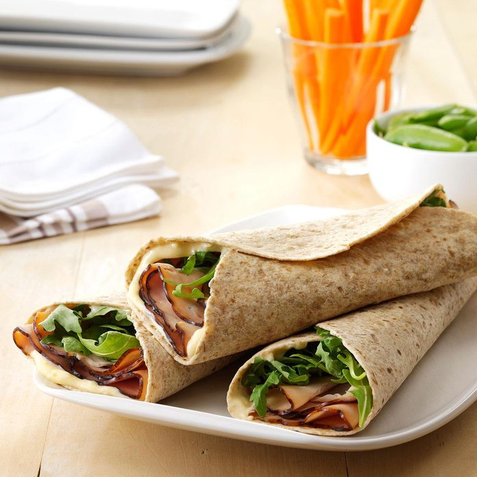 Day 7 Lunch: Turkey & Apricot Wraps