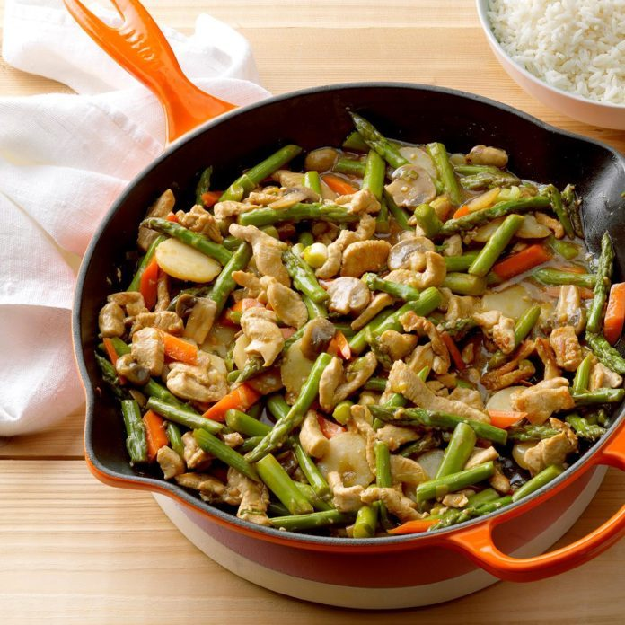 Turkey Asparagus Stir-Fry