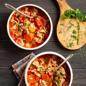 Turkey Cabbage Stew