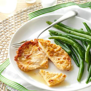 Turkey Cutlets in Lemon Wine Sauce