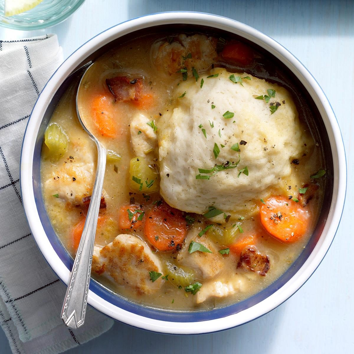 Turkey Dumpling Stew