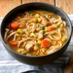 Turkey Ginger Noodle Soup