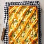 Turkey Lattice Pie