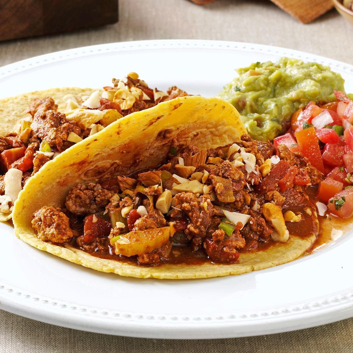 Turkey Mole Tacos