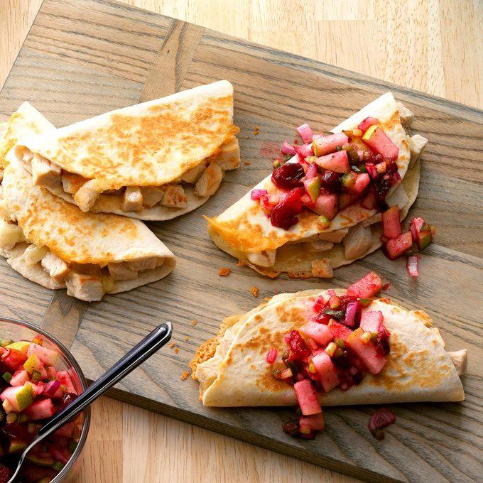 Turkey Quesadillas With Cranberry Salsa Exps Sddj17 27140  B08 03 5b 22